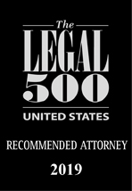 Legal 500 Recommended Attorney